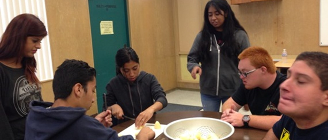 Students learn how to cook tasty treats!