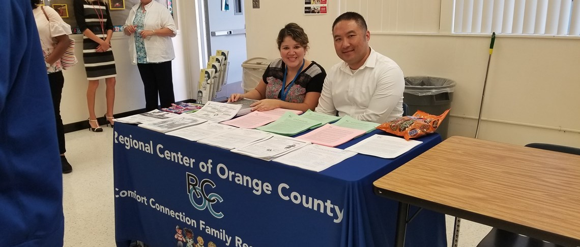 The Regional Center of Orange County enjoys helping families.