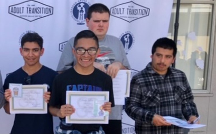 February 2020 Student of the month awards - article thumnail image